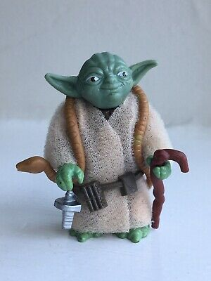 Vintage Star Wars Figure Yoda Complete All Original..