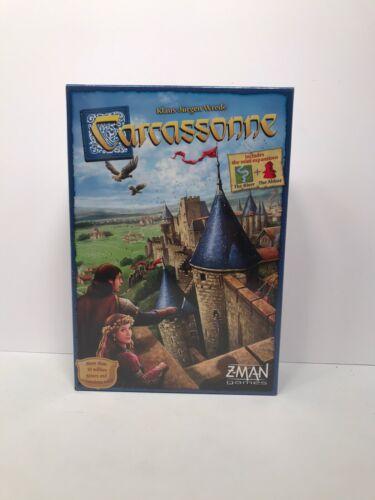 Carcassonne Family Tile Board Game Z-Man Games  ZMG ZM7810 B