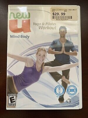 Nintendo Wii Yoga And Pilates Workout New U Mind And Body disc in Mint Condition