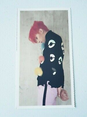 "BIGBANG GD G-Dragon Limited Postcard - Official CONCERT ""LAST DANCE"" IN SEOUL"
