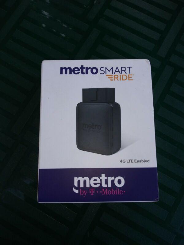 SEALED METRO PCS SMART RIDE BLACK 4G LTE ENABLED WIFI HOTSPOT  GPS TRACKING