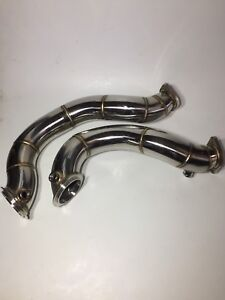 Mmp n54 catless downpipes brand new with hardware
