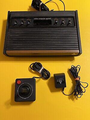 🔥 THE ORIGINAL - ATARI 2600 HEAVY Sixer 6 Switch Console 🔥 RARE SUNNYVALE CA