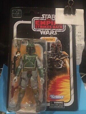 "Star Wars Vintage Black Series Empire Strikes Back 6"" Boba Fett"