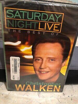 Saturday Night Live Best Christopher Walken DVD 2004 SNL COWBELL COMEDY TV (Best Saturday Night Tv Shows)