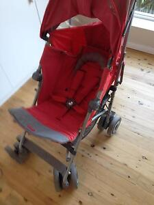 MacLaren Techno XT Bittersweet on Silver Frame Stroller - as new Lindfield Ku-ring-gai Area Preview