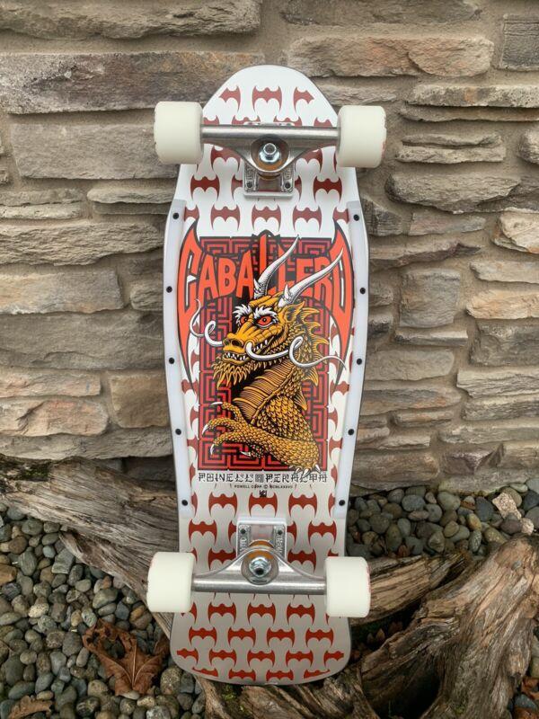 Powell Peralta Re-Issue Steve Caballero Street Series Silver Custom Skateboard