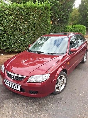2002 Mazda 323F 1.6 16v -Low mileage 45k - Burgundy / Red   - Dismantling