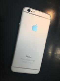 Iphone6 silver 16gb Brompton Charles Sturt Area Preview