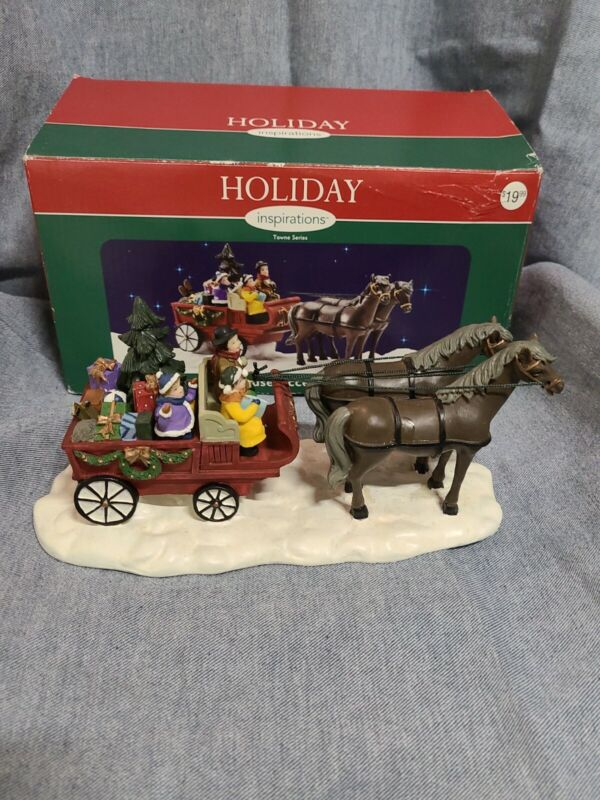 Vintage Holiday Inspirations Towne Accessory Horse And Buggy