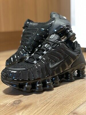 Men's Nike Shox TL Triple Black size 8,5 Uk / 43 EUR