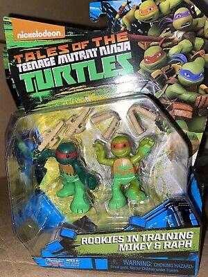 MIKEY & RAPH ROOKIES TRAINING tmnt NICKELODEON teenage mutant ninja turtles NEW