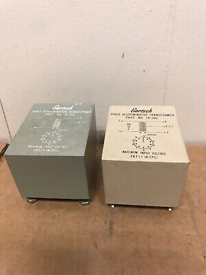 Gertsch Ta-105 Phase Discriminator Transformers