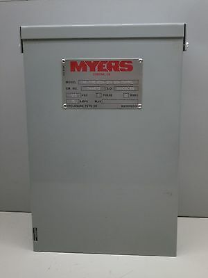 Myers Me Type Sc2a 120V Industrial Sign Control Nema 3R Rainproof 2 Wire 15A