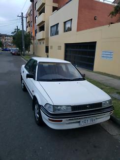 30/6/18 rego, 92 Toyota corolla