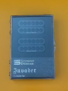 New Seymour Duncan Invader Humbucker Pickup Set Black 11108-31-B