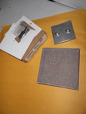 Burner Insert Assembly Part 450-002 Paint Spray Booth Air Makeup 4.0 X 4.0 New