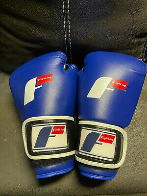 Fighting Sports Professional Bag Boxing Gloves - 14oz  Blue