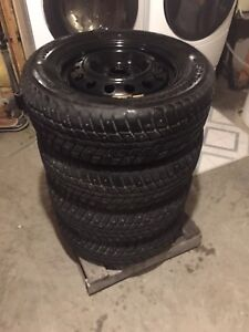 WeatherMax Studded 215/60/15 Winter Tires & Free Rims