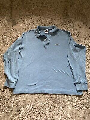 Lacoste Men's Size  5 Long Sleeve Polo Shirt