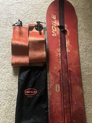 Voile Artisan 162 Splitboard With Skins