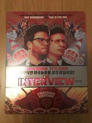 The Interview Blu-ray Steelbook