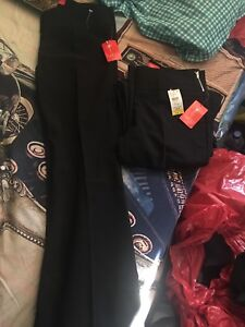 2 be a woman's dress pants with tags 10$ for both