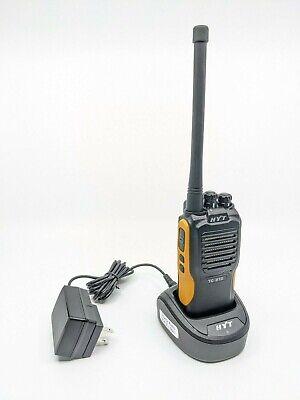 Mint Condition Open Box Hytera HYT TC-610 V(2) Analog VHF 136-174 Two-Way Radio