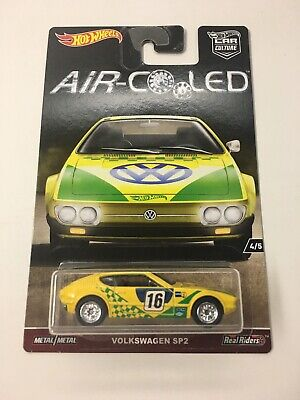 HOT WHEELS Car Culture Air Cooled series 4/5 Volkswagen SP2 w/ REAL RIDERS MINT