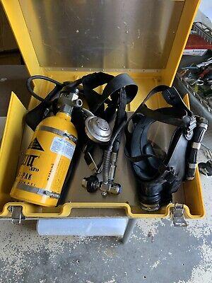Scott Supplied Air Ska-pak Confined Space Respirator Scott 2216 Psi With Mask