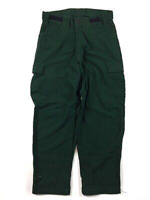 True North Wildland Pants Mens Medium X 30 Nomex Green Firefighting Cargo Vv33