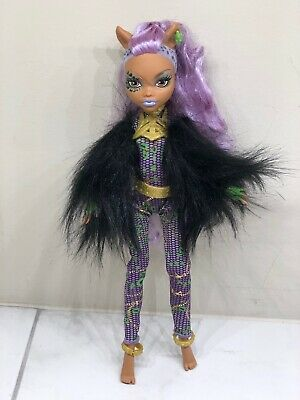 2008 Monster High Clawdeen Wolf Halloween - Halloween Wolf Monster High Doll