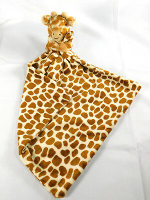 Jellycat Giraffe Security Blanket Lovey Plush Full Body Giraffe Animal