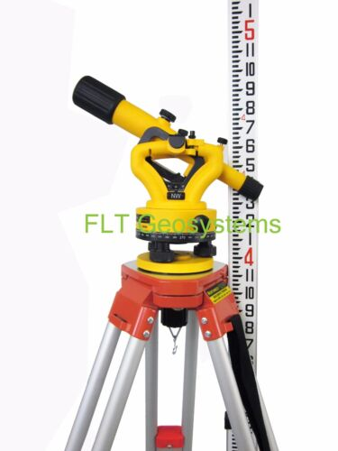 Northwest NSL500B Builders Transit Level Package with Tripod & Level Rod
