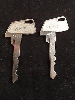 Tec Cash Register Set Key Az05 Set Of 2