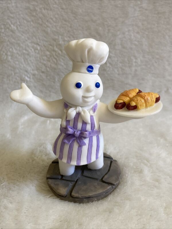 1997 Danbury Mint Pillsbury Doughboy Calendar Figurine Display June