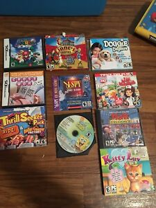 PC and DS Games