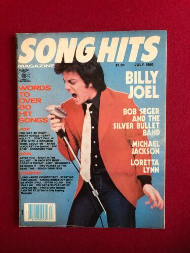 "1980, Billy Joel, ""Song Hits"" Magazine  (No Label) Scarce / Vintage"