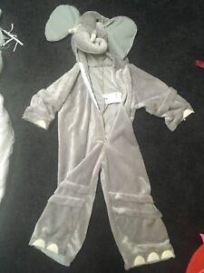 Elephant costume 3-4T