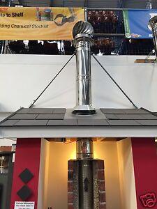 Selkirk Roof Brace Kit / midtherm hts / twinwall flue   STC-RBK