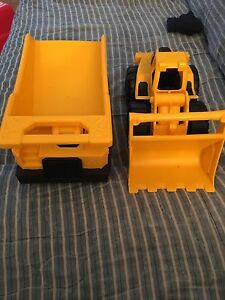 CAT Dump Truck and Front Loader