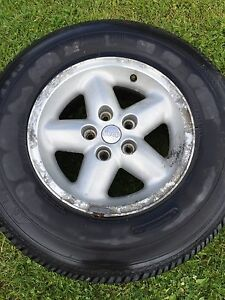 JEEP rim and spare