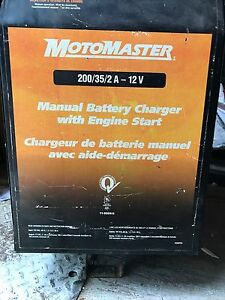 200/35/2A BATTERY CHARGER