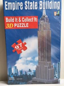 Casse-tête/puzzle 3D Empire State Building NYC - NEUF/NEW