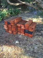 Red gum posts/sleepers 100mm x200mm Beaumaris Bayside Area Preview