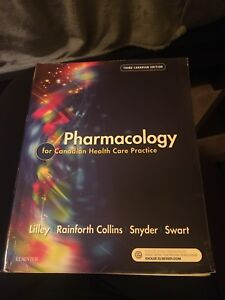 Pharmacology for Canadian Healthcare Practice