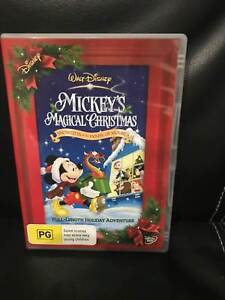 walt disney mickeys magical christmas dvd - A Walt Disney Christmas Dvd