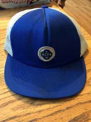 Vintage Staley ADM Archer Daniels Midland Mesh Snapback Trucker Hat Cap Patch