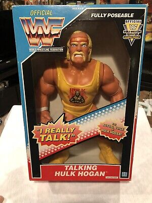 Hulk Hogan Hasbro Talking Figure Mint Sealed From Personal Collection! Look!!!