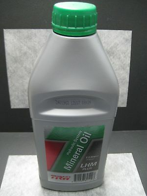 TRW Hydraulic System Mineral Oil LHM Plus for Rolls Jaguar & Bentley Ships Fast!